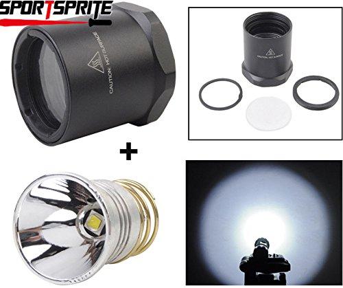 (FidgetKute Handheld (Standard) Flashlights 1000lumen LED Conversion Head for Surefire 6P G2 G2Z C2 D2 Z2 tactical flshlight)
