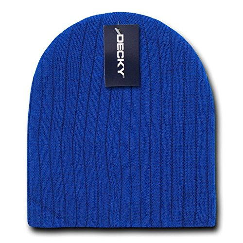 DECKY Cable Beanies, Royal