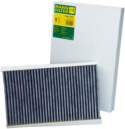 Range Rover Air (Mann-Filter CUK 2747 Cabin Filter With Activated Charcoal for select  Land Rover models)