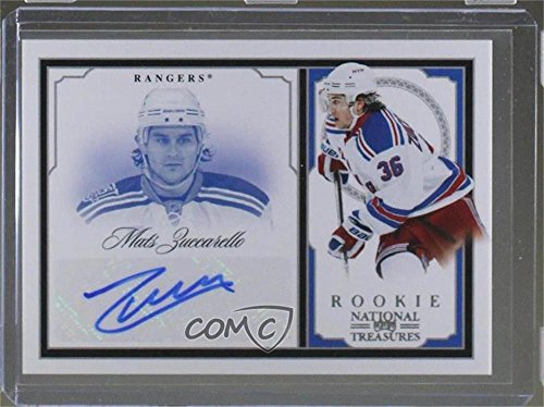 (Mats Zuccarello #11/99 (Hockey Card) 2010-11 Zenith - National Treasures Autographs - Dare to Tear [Autographed] #203 )