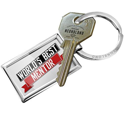 NEONBLOND Keychain Worlds Best Mentor -