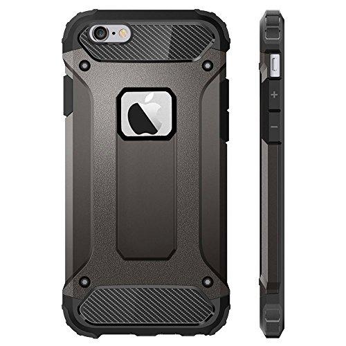 19e4178a288 Sonolife - iPhone 6 Plus / 6s Plus Funda Protectora Doble Capa de Alto  Grado de