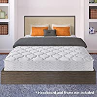 Best Price Mattress 8 Contour Support Pocketed Coil Mattress, Full