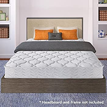best price mattress 8 contour support pocketed coil mattress twin - Bed Frames With Mattress Included