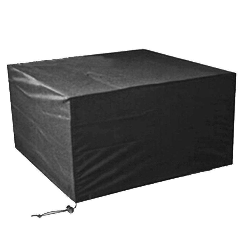 HongTeng Windshield Garden Outdoor Dust Cover Protective Cover Waterproof and Dustproof Oxford Cloth Material Rectangular Black Size Multiple Selection (Size : 170×94×70CM)