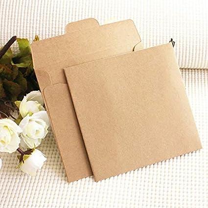 Amazon.com: Sobres de papel Kraft – 10 unidades multicolor ...