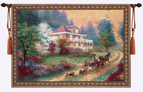 Beautiful Sunday Fine Tapestry Jacquard Woven Wall Hanging Art Decor ()