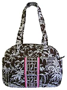 vera bradley baby bag diaper imperial toile diaper tote bags baby. Black Bedroom Furniture Sets. Home Design Ideas