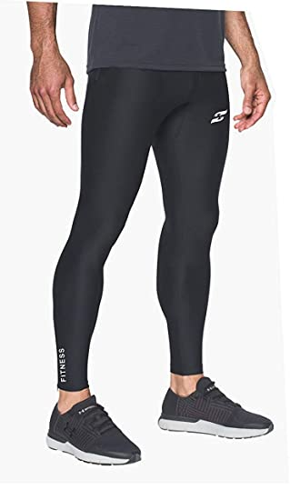 Mens Gym Sports Compression Base Layer Skins Tight Pants Shorts Workout Leggings