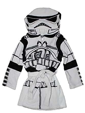 Disney Star Wars Boys Hooded Robe 4-16 (L (10/12))
