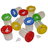Art Straws AM351 Non Spill Paint Pots with Stoppers