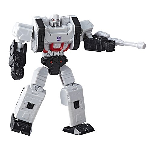 Transformers Authentics Decepticon Megatron Action Figure, 4 Inches
