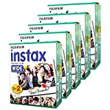 Fujifilm Instax Wide Instant Films 5 Pack Deal