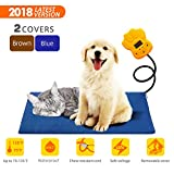 Cheap Tonha Pet Heating Pad 15W | Indoor Electric Warmer for Dogs, Cats, Animals | Whelping Box, Heated Bed, Warming Mat | with Chew Resistant Cord, Replaceable Covers, Waterproof Layer | 11.8X 15.7in