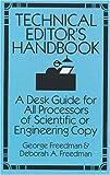A Technical Editor's Handbook, George Freedman and Deborah A. Freedman, 0486280098