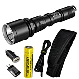 Nitecore MH25GT 1000 Lumen USB Rechargeable LED Flashlight - Long Range Throwing with Lumen Tactical...