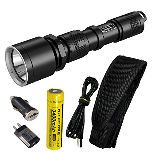 2. Nitecore MH25GT 1000 Lumen USB Rechargeable LED Flashlight