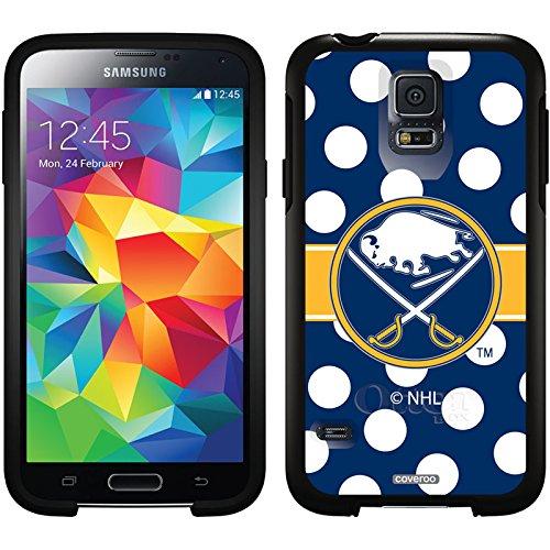 coveroo Symmetrie Serie Handy Case für Samsung Galaxy S5–Retail Verpackung–Buffalo Säbel–Polka Dots Design ZYMGqsO09c
