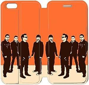 Cuero del tirón de la cubierta del Funda de la PU para el Funda iPhone 6 Caja del teléfono celular de 4,7 pulgadas Funda de cuero T B4S6IB Funda iPhone Plástico Deportes
