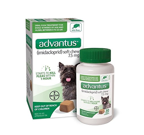 Soft Chew Tablets (Advantus 7 Soft Chew for Small Dog, 4 lb or Greater)