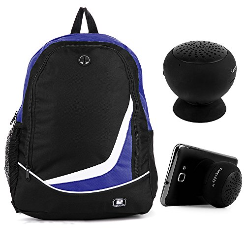 SumacLife Nylon Sport Camping Hiking Backpack (Blue) for Google Chromebook 12.85