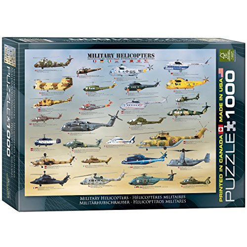 EuroGraphics Military Helicopters Puzzle (Havoc Heli)