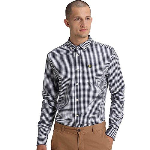 Casual Ls Scott Lyle Fit Slim Marina Gingham amp; Uomo Camicia Shirt U8Sqfg