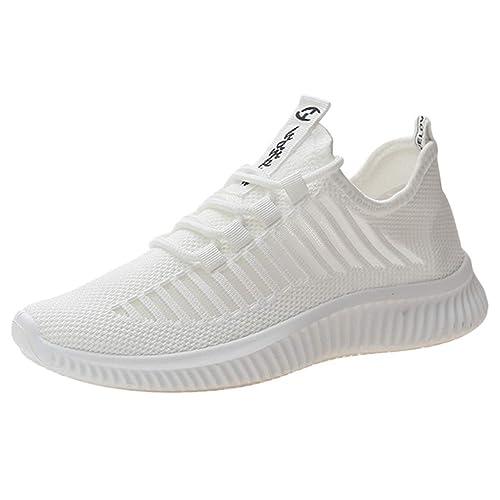 acheter pas cher 4e2fc 5df20 Beikoard Chaussures de Course Femme Basket Mode Travail Running Compétition  Sports Trail Entraînement Espadrilles Légères Confortable Sneakers Mesh ...