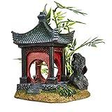 Imagitarium Asian Gazebo with Bamboo Ornament, Medium