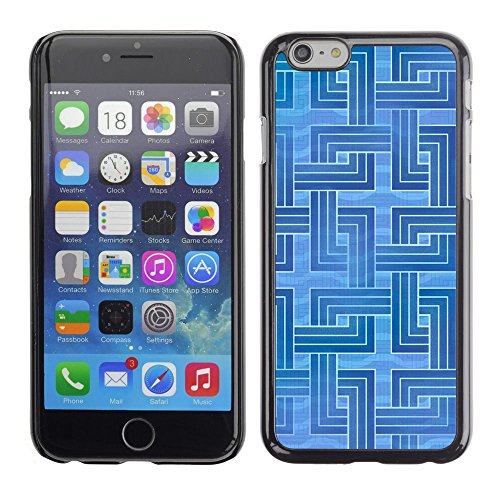 abstract order pattern lines Apple iPhone 7 (4.7 inchesHard Printing Protective Cover Protector Sleeve Shell Case Cover