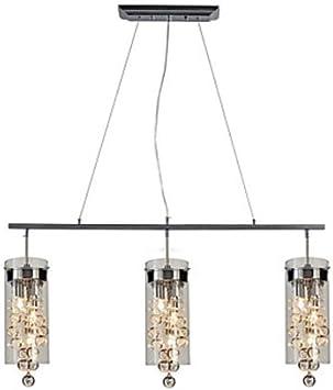 Pendelleuchte Hängelampe Beleuchtung Glaswürfel Esszimmer Strahler Höhe 110 cm