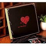 16 inch DIY album / handmade creative couple romantic album / photo album paste past birthday gift book ( Style : B )