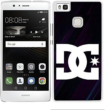 FUNDA CARCASA PARA Huawei P9 Lite DISEÑO LETRA FONDO NEGRO Y ...