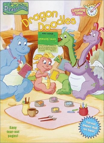 Buy Dragon Doodles (Super Coloring Book) Book Online at Low Prices ...