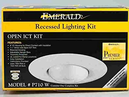 Emerald recessed lighting open ict complete kit p710w amazon emerald recessed lighting open ict complete kit p710w aloadofball Image collections