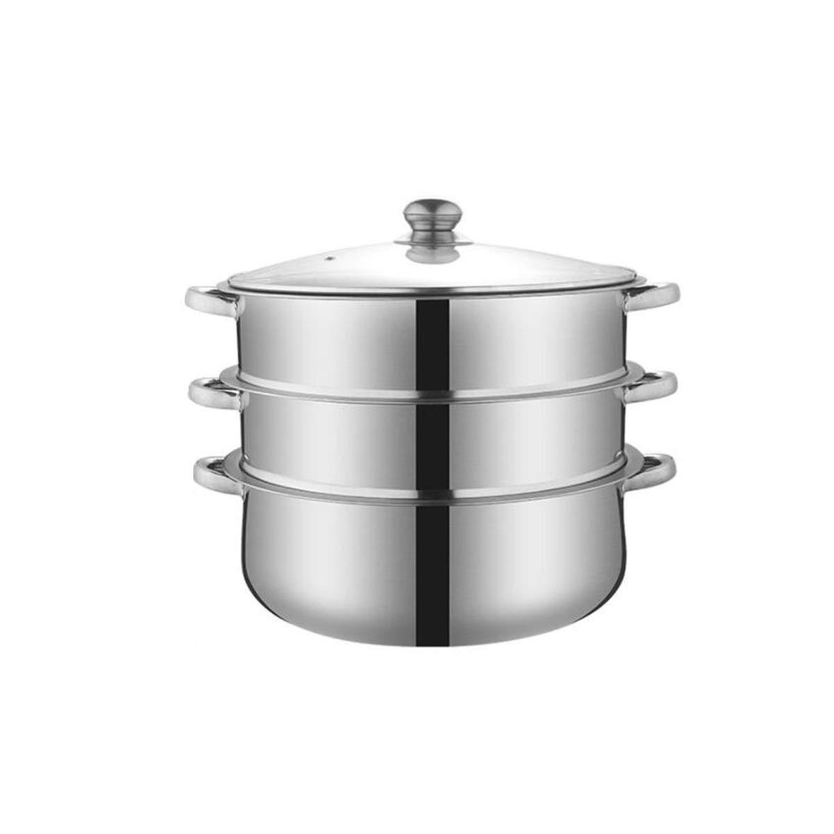 Jiansheng Cuit-Vapeur, cuit-Vapeur Steel Couleur 36cm