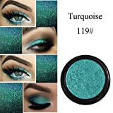 Eyeshadow Big Promotion!ZYooh Pro Makeup Shimmer Color Eyeshadow Metallic Eye Cosmetic (S)