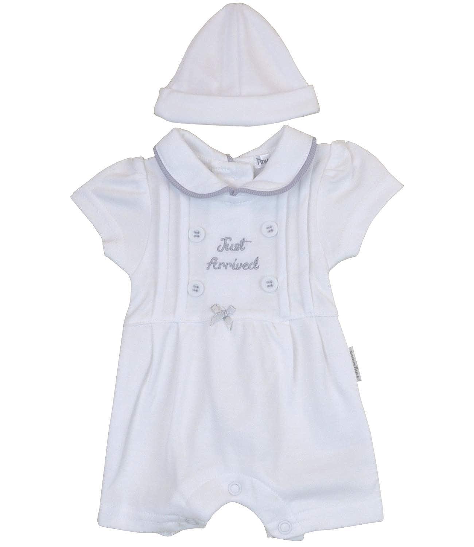BabyPrem Premature Baby Romper /& Hat Set