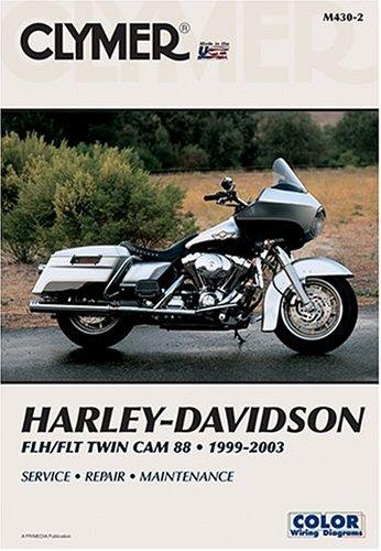 Harley-Davidson Flh/Flt Twin Cam 88, 1999-2003 (Clymer Motorcycle Repair) -