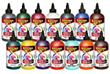 Unicorn SPiT Gel Stain & Glaze in One - 14 COMPLETE Paint Collection- 8oz - Includes New Colors and Exclusive Guide