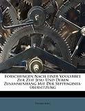 Forschungen Nach Einer Volksbibel Zur Zeit Jesu, Eduard Böhl, 1246329093