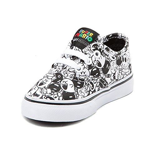 a1ae1f446b Galleon - Vans Toddler Authentic (Nintendo) Skate Shoe (4 Infant Toddler