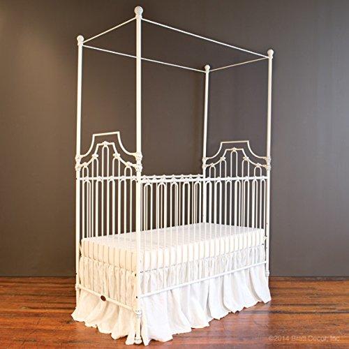 Bratt Decor parisian 9 in 1 crib distressed (Bratt Decor White Crib)
