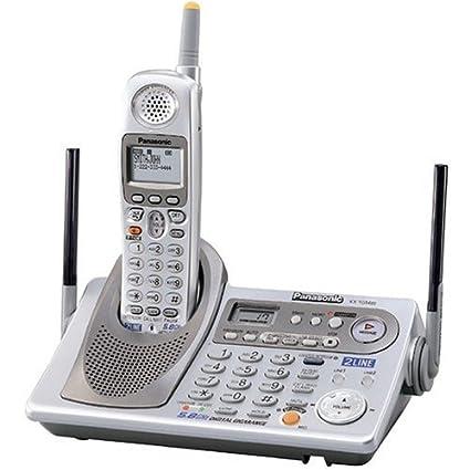 amazon com panasonic kx tg5480s 5 8 ghz fhss gigarange cordless rh amazon com Panasonic Kx Cordless Phone Manual Panasonic Kx Cordless Phone Manual
