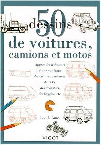 50 dessins de voiture-camion