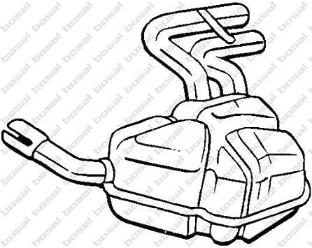 Bosal 247-041 Exhaust Silencer