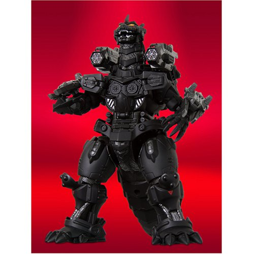 Godzilla Bandai Deluxe DieCast Action Figure Limited Edition GD-57B Mecha ()
