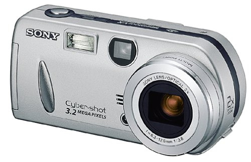 amazon com sony dscp52 cyber shot 3 2mp digital camera w 2x rh amazon com Sony Cyber-shot Charger Sony Cyber-shot DSC WX70
