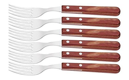 Tramontina Poly Wood Long Fork 6pc Red 21110/670