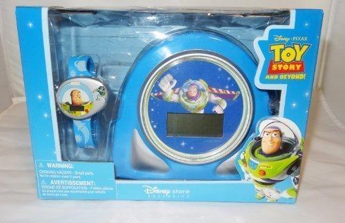 Disney Toy Story and Beyond Buzz Lightyear Cosmic Alarm Clock and Watch Toy Set by Disney (Buzz Lightyear Alarm Clock)